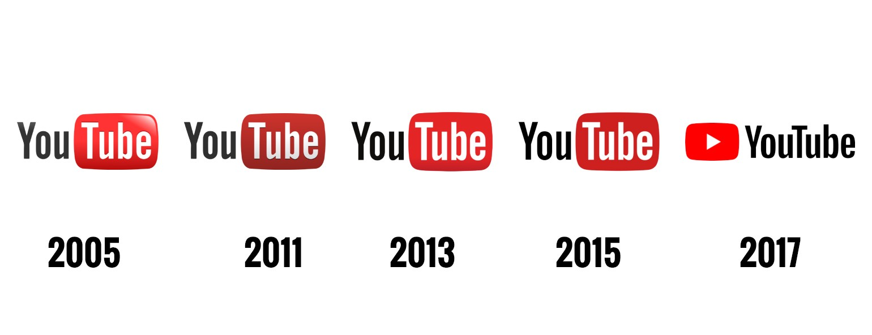 Rediseño y renovación de logotipo Youtube
